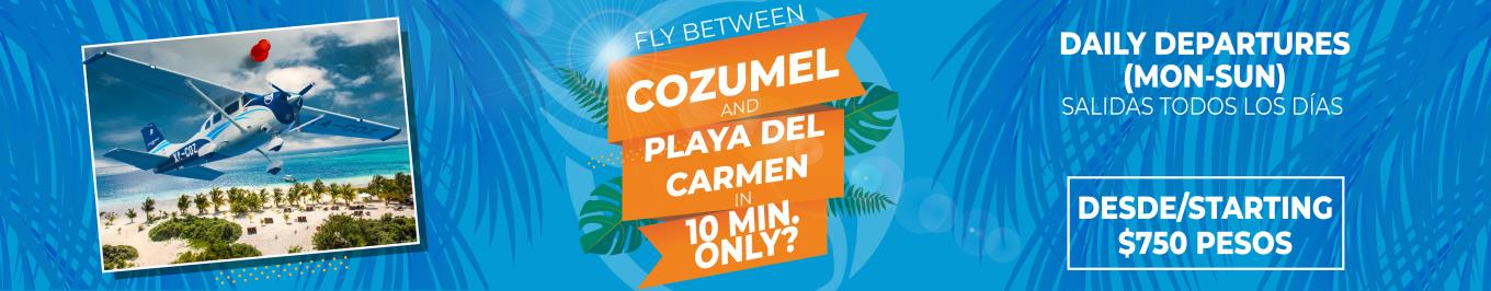 Flights playa del carmen to cozumel