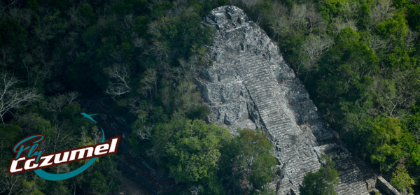 Mayan Ruins from Cozumel by Air Chichen Itza Coba