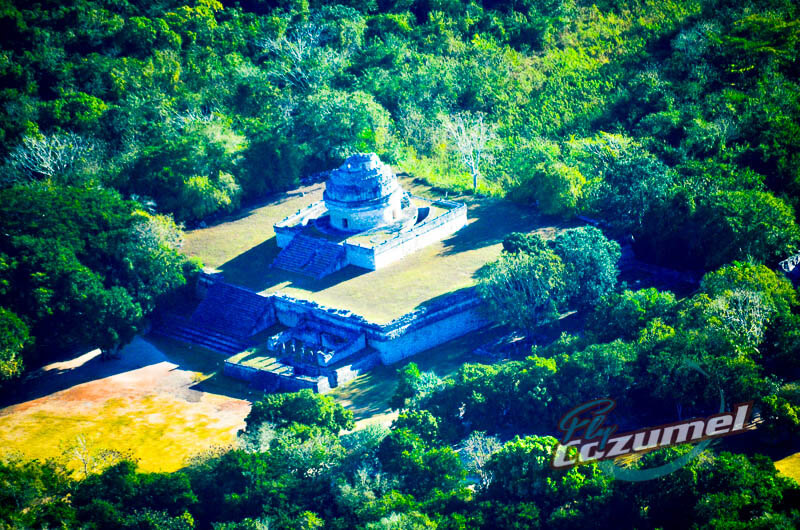 Chichen Itza tour from Cozumel by airplane