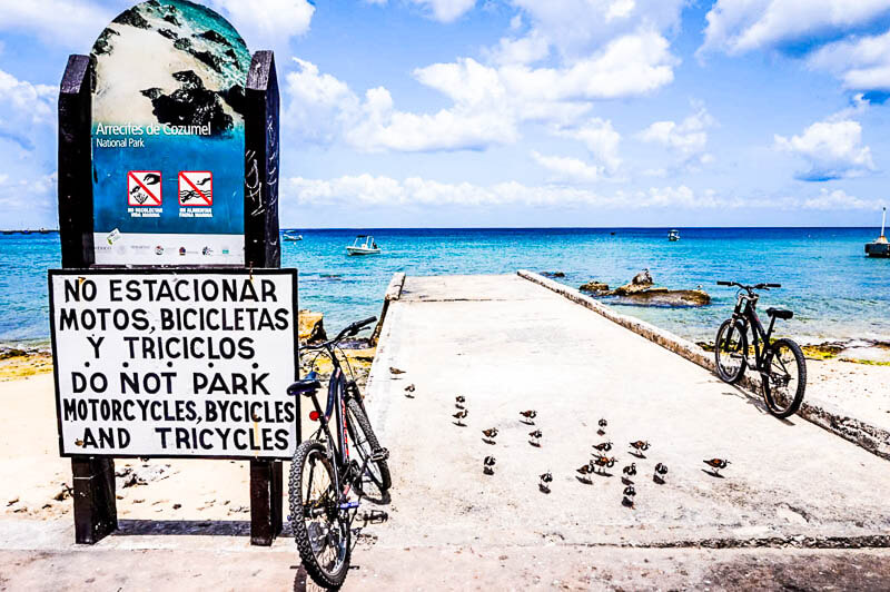 Cozumel bike rental Mexico