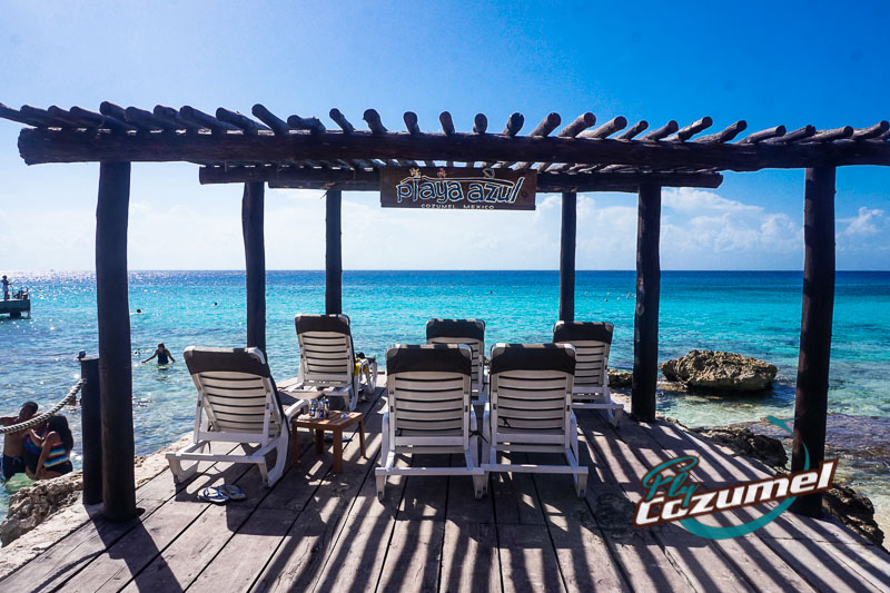 The Playa Azul Beach Club Is About A Ten Minute Drive North Of Cozumel Ferry To Del Carmen