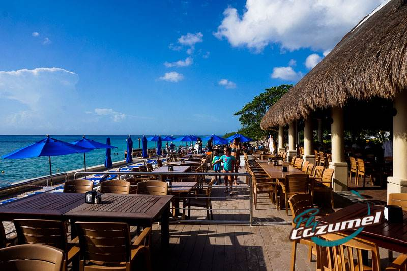 The Money Bar Cozumel snorkel restaurant