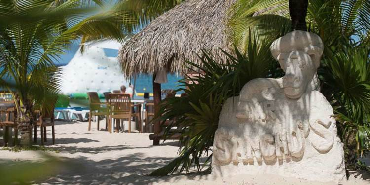 Mr Sanchos Cozumel beach