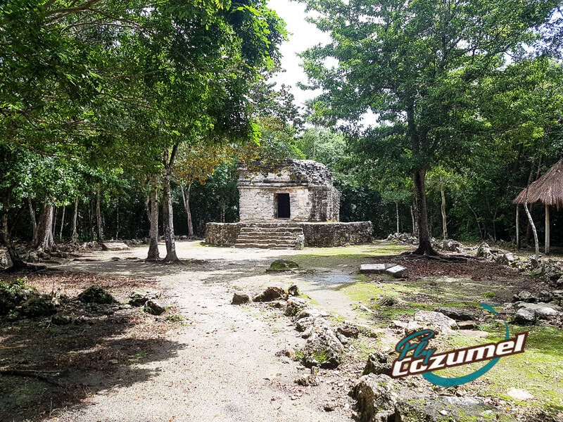 Big House Cozumel Mayan ruins