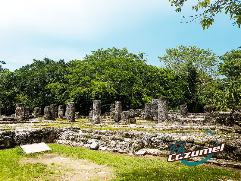 Central Plaza Cozumel Ruins