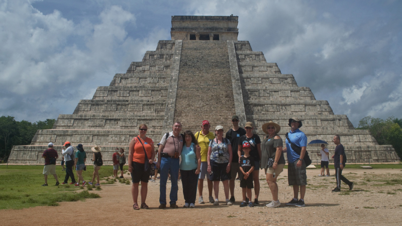 Chichen Itza Trip by plane from cozumel