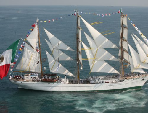 Fly over Sailing Tall Ships 2018 in Cozumel