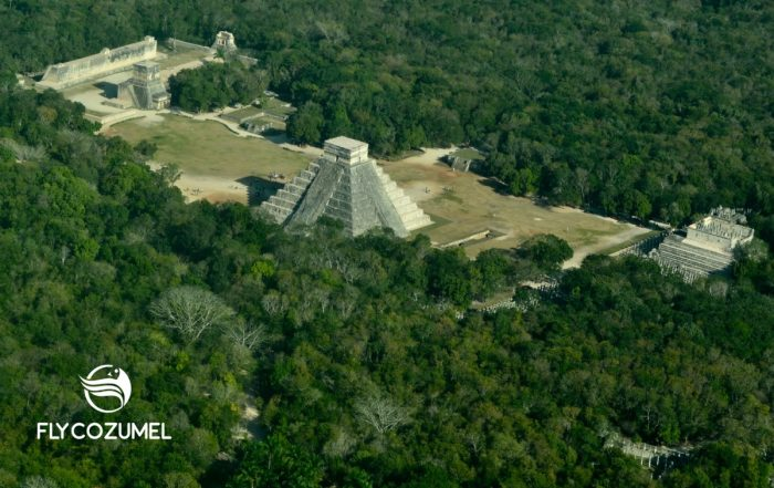 Chichen Itza Lindbergh Photo
