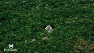 Mayan Ruin Pyramid mexico jungle